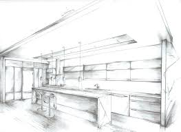 Interior design sketches kitchen Interior Decoration Kitchen Drawing Interior Design Drawings Google Search Kitchen Plans Layouts With Islands Kitchen Drawing Pixelgloss Kitchen Drawing Kitchen Kitchen Design Drawing For Perspective