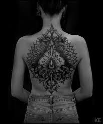фото женские татуировки на спине фото