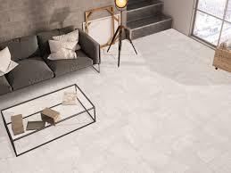 white floor tiles living room. Delighful Floor Varana White Floor Tiles In Mixed Sizes Uber Modern High Rise Living  Room For S