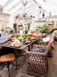 Sunroom Bohemian Dining Space