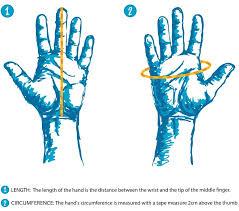 Hestra Gloves Size Chart Powder7
