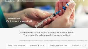 Buscas por vacina disparam no Google nos últimos 7 dias