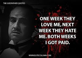 Godfather Quotes Magnificent 48 Fan Favourite The Godfather Quotes EliteColumn