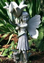 fairy statues garden with small concrete fairy statue outdoor fairy statues uk