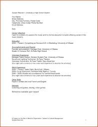19 Good High School Student Resume Objective Tz I34968 Resume