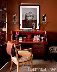 organized home office. Photo: Bruce Buck / Design: Stephen Elrod With Eric Cohler Organized Home Office