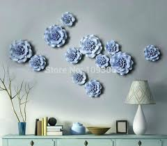 >ceramic wall decor flower fotoderby fo ceramic wall decor adorable garden decor outdoor wall art made from ceramic wall decor entrancing wall