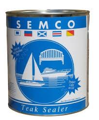 Semco Teak Sealer Color Chart Semco Teak Sealer Protector Gold Tone 1 Gallon Teak