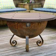 Handcrafted Table Top For 30 Firepit Local Purchase Only Custom Fire Pits Custom Fire Pit For Sale Made To Last Forever