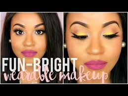 12 47 bright fun wearable makeup tutorial spring 2016