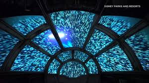 Millennium Falcon a star attraction at ...