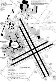 Sfo Runway Chart San Francisco Airport Runway Map International Airport