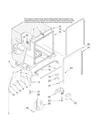 Jenn air undercounter dishwasher parts model jdb1095aws42 sears partsdirect