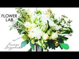 how to make a wedding bouquet diy greenery bouquet flower lab