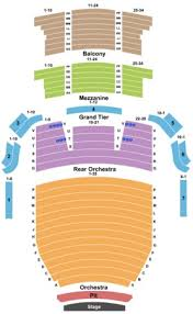 Capitol Theater Slc Seating Chart Arvest Bank Theatre At The Midland Proper Midland Theater