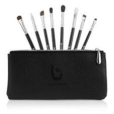 eyeshadow blending makeup brush set free case includes 8 must have eye shadow eyeliner
