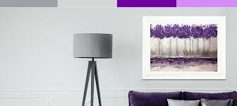 gray and purple canvas art prints icanvas