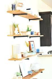 the easiest industrial shelving tutorial more diy wall shelves shelf for books