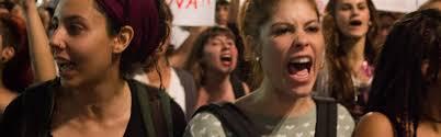 Resultado de imagem para jovem protestando