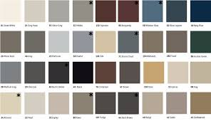 Johnsonite Palette A Color Chart Baseboard Molding