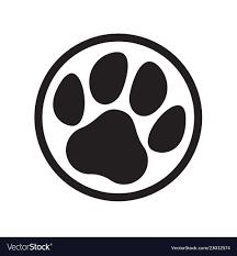 Animal Icon Paw Logo Cat Dog Animal Pet Footprint Icon