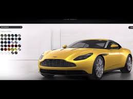 Aston Martin Color Chart Aston Martin Db11 Comes In 35 Colors See Them All Here
