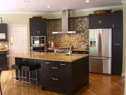 kitchen elegant small kitchen design with average cost painting kitchen cabinets black in a small kitchen