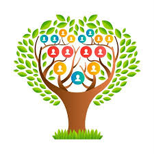 Family Tree Tree Template Big Family Tree Template Concept With People Icons And Colorful