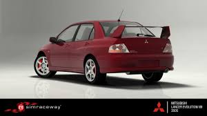 Simraceway - Mitsubishi Lancer Evolution VIII