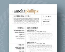 Contemporary Design Contemporary Resume Templates Contemporary