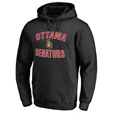 Victory Arch Fanatics amp; Big Pullover Branded Ottawa Senators Hoodie Tall Black