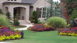Flower Garden Ideas for Front of House