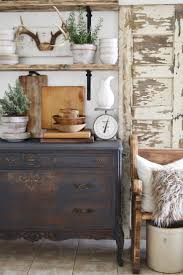 Chalk Painting An Old Dresser door, chest, those shelves, staging.just no  antlers