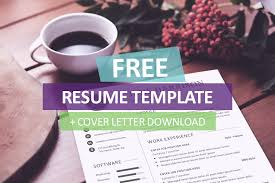 Free Resume Cover Letter Template Download All Best Cv Resume Ideas