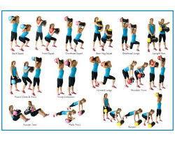 Sandbag Size Chart Powerbag Exercise Chart Google Search Sandbag Workout