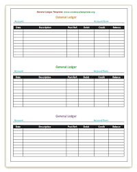Ledger Template For Excel Excel General Ledger Template Templates For Accounting Discopolis Club
