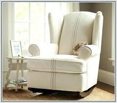 recliner rocker chair reclining rocking chair nursery reclining glider rocking nursery chair and footstool