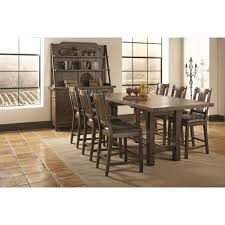Coaster Padima Pc Counter Height Dining Table Set Distressed - Distressed dining room table and chairs