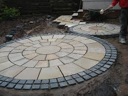 Small Picture stone circle paving Google Search garden ideas Pinterest