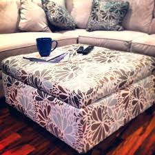 fantastic printed ottoman material ottoman coffee table printed fabric ottoman used as a coffee table fabric