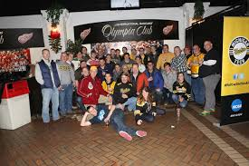 husky fans of all ages gathered in the garden room for the detroit chapter pre game party during the 2016 great lakes invitational