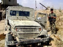 Resultado de imagen de Descubren un vehiculo militar israelí en Siria