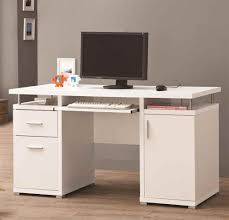 new white desk with keyboard tray 43 about remodel modern house with white desk with keyboard