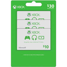 xbox live microsoft gift card multipack gaming gifts