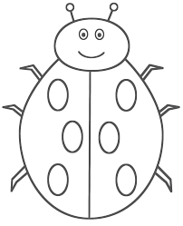 Small Picture coloringPages for my kids Pinterest Ladybug