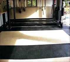 Garage Area Rugs Garage Rubber Floor Mats Best Rubber Garage Floor