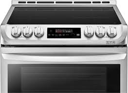 lg induction range. Brilliant Induction LG 30 Inch Single Oven Induction Range  Stainless SteelLSE4616ST On Lg S