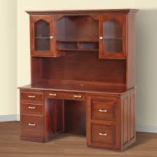 computer hutch home office traditional. Innovative Computer Desk With Hutch Classic Home Plan Ideas Office Traditional