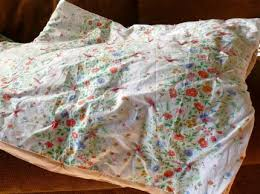 How to Make a Super-Simple Recycled Quilt - CraftStylish & Showcase your favorite vintage sheets by transforming them into a cozy quilt.  You dont need Adamdwight.com