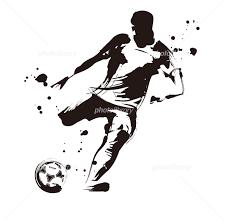 サッカー選手 イラスト素材 5557791 フォトライブラリー Photolibrary